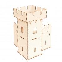 Угловая башня сборной крепости