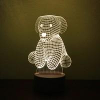 """3D-светильник """"Щенок"""""""